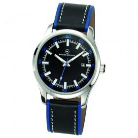 "Armbanduhr ""Cassini schwarz/blau"""