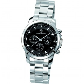 "Chronograph ""Kentucky light Metall schwarz"""