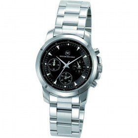 "Chronograph ""Kentucky light Damen Metall schwarz"""