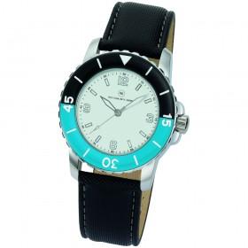 "Armbanduhr ""Spectra weiß/blau"""