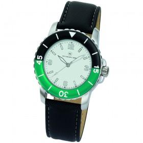 "Armbanduhr ""Spectra weiß/grün"""