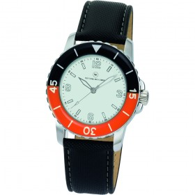 "Armbanduhr ""Spectra weiß/orange"""