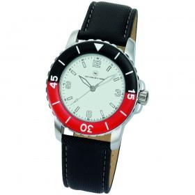 "Armbanduhr ""Spectra weiß/rot"""