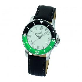 "Armbanduhr ""Spectra Damen weiß/grün"""