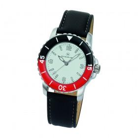 """Armbanduhr """"Spectra Damen weiß/rot"""""""