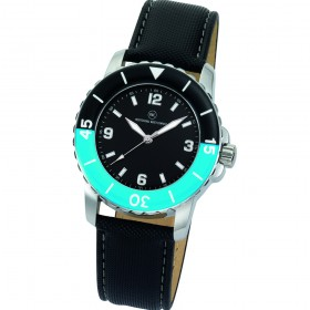 "Armbanduhr ""Spectra schwarz/blau"""