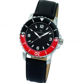 "Armbanduhr ""Spectra schwarz/rot"""