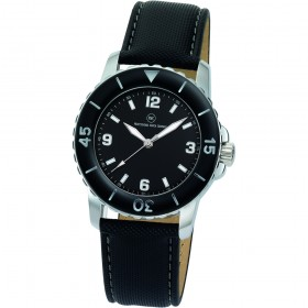 "Armbanduhr ""Spectra schwarz/schwarz"""