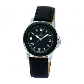 "Armbanduhr ""Spectra Carbon Damen schwarz"""