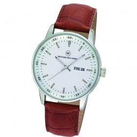 "Armbanduhr ""Leonis L braun"""
