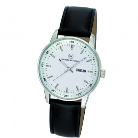 "Armbanduhr ""Leonis L silber"""