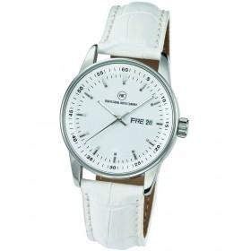 "Armbanduhr ""Leonis Damen L silber"""