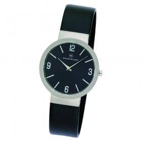 "Edelstahl-Armbanduhr ""Beta schwarz"""