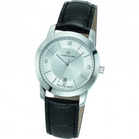 """Edelstahl-Armbanduhr Made in Germany """"Capella silber"""""""