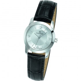 "Edelstahl-Armbanduhr Made in Germany ""Capella Damen silber"""