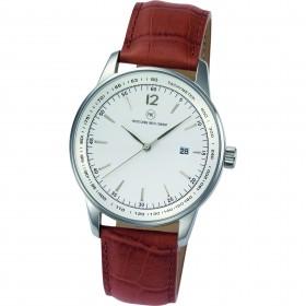 "Armbanduhr ""Polaris L braun"""