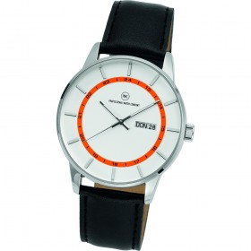 "Armbanduhr ""Vectory Classic silber/orange"""