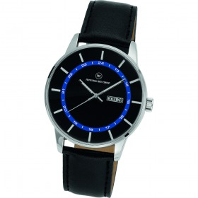 "Armbanduhr ""Vectory Classic schwarz/blau"""