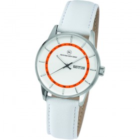 "Armbanduhr ""Vectory Classic Damen silber/orange"""