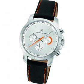 "Chronograph ""Sedna L silber/orange"""