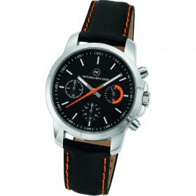 """Chronograph """"Sedna L schwarz/orange"""""""