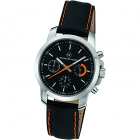 "Chronograph ""Sedna L Damen schwarz/orange"""