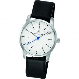"Armbanduhr ""Prime silber/blau"""