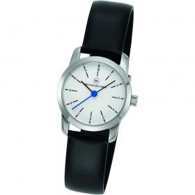 "Armbanduhr ""Prime Damen silber/blau"""