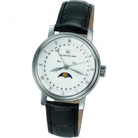 "Armbanduhr ""Luna L schwarz"""