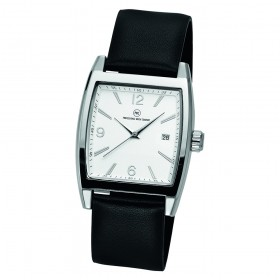 """Armbanduhr """"Anniverse Datum Damen silber"""""""