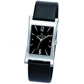 "Edelstahl-Armbanduhr ""Tagus schwarz"""