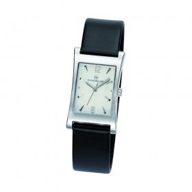 "Edelstahl-Armbanduhr ""Tagus Damen silber"""