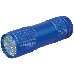 "9 LED Leuchte ""Matrix I blau"""