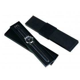 Elegante Kartonverpackung schwarz